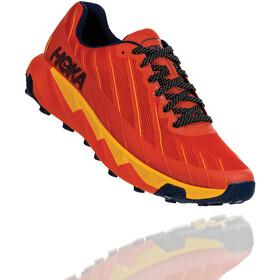 Hoka One One Torrent Scarpe da corsa Uomo, tangerine tango/old gold